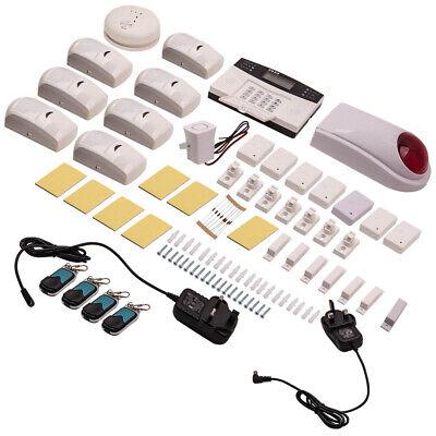 GSM Sistema de alarma seguridad inalámbrico oficina Casa intruso ladrón sensor