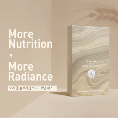 [JAYJUN]  Drew Barry More Then Nutrition brightening 3step Mask Pack (10ea)