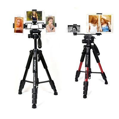 Universal Tripod Kit - Functional Live Stream Kit Tripod Q111 with Phone holder Stand for Yutube Vedio