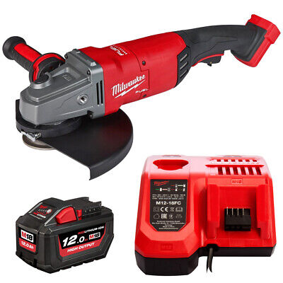 XPDB-121C 18V 9in Angle Grinder + 1 x 12Ah Battery & Charger (12 X 18 Flag)