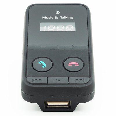 Auto MP3 FM Transmitter Wireless Bluetooth Car Kit USB Ladegerät Fernbedienung