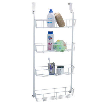 NEW! OVER THE DOOR MOUNTED BATHROOM/CLOSET/KITCHEN/PANTRY ORGANIZER - WIRE SHELF