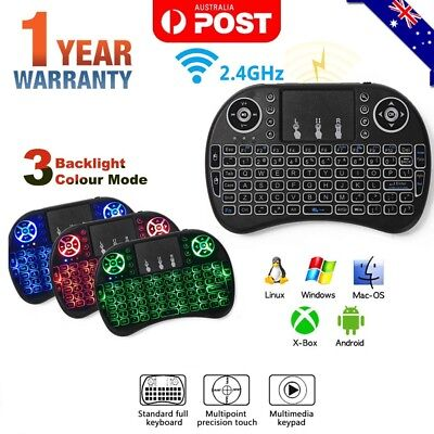 Mini Wireless Remote Keyboard Mouse for Samsung LG Smart TV Android Kodi TV Box