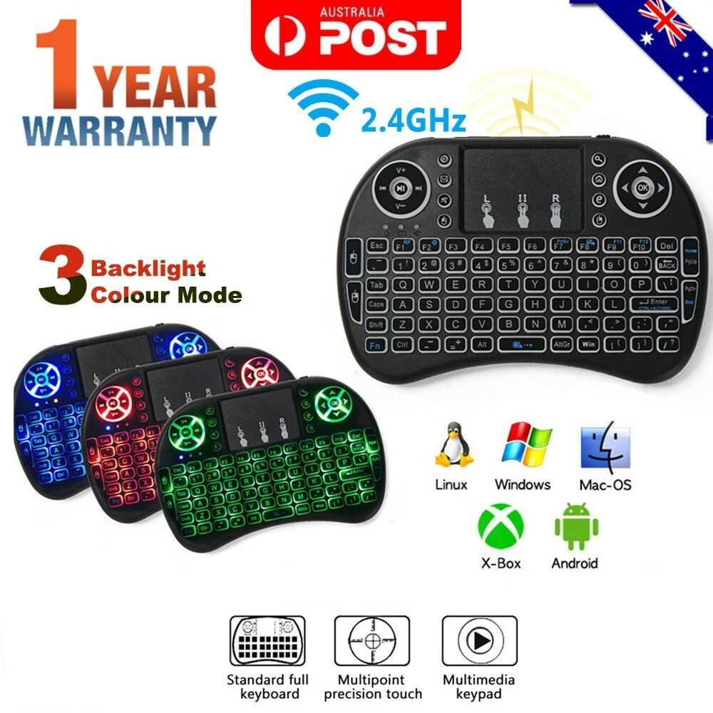 Mini Wireless Remote Keyboard Mouse for Samsung LG Smart TV