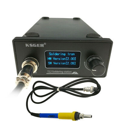 Ksger T12 Soldering Station Diy Kits Electric Welding Soldering Iron Set