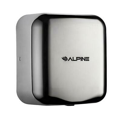Alpine Industries Chrome Hemlock Commercial 120v Automatic Hand Dryer