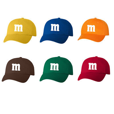 M & M Halloween Costume Dad Hat Cap M and M Group Hats Costumes New - 100 Cotton Halloween Costumes