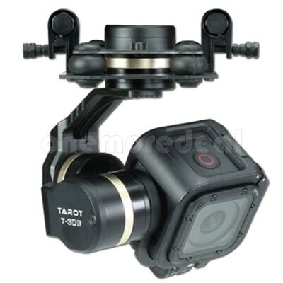 Tarot GOPRO T-3D IV 3 Axis HERO4 SESSION Camera Gimbal PTZ TL3T02  for FPV Drone