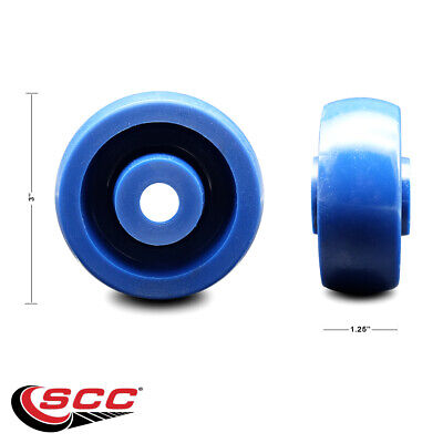 Scc - 3 Solid Polyurethane Wheel Only - 12 Bore - 300 Lbs Capacity