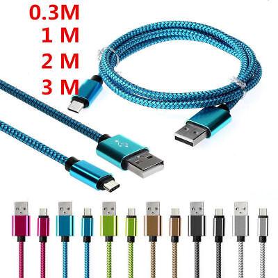 2M Type-C (USB-C) Kabel Datenkabel USB ladegeräte für Samsung S8 S9 HUAWEI