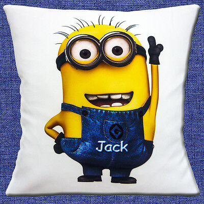 Minions Characters Names (PERSONALISED Minions Character ADD CHOICE OF NAME White 16