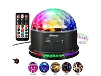 Disco Lights 48 LED Disco Ball Dj Lights Storbe Light RGB Sound