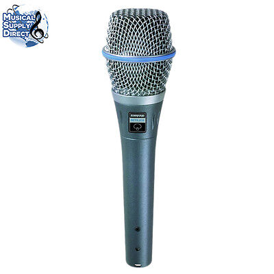 Shure Beta 87A Supercardioid Condenser Vocal Mic MINT Free US Shipping on Rummage