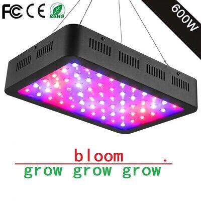 600W LED Grow Light ColoFocus Full Spectrum LED Lights for Indoor Plant Black