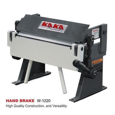 Kaka Industrial W-1220 12 Inch 20 Gauge Sheet Metal Hand Brake