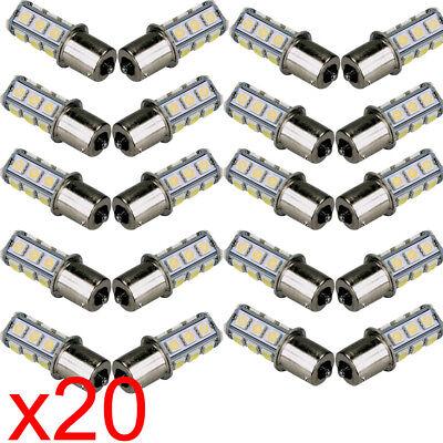20X Car RV Cool White 1156 BA15S 5050 18smd LED Light Bulb 7503 1141 1073 Sale](Cool Ba)