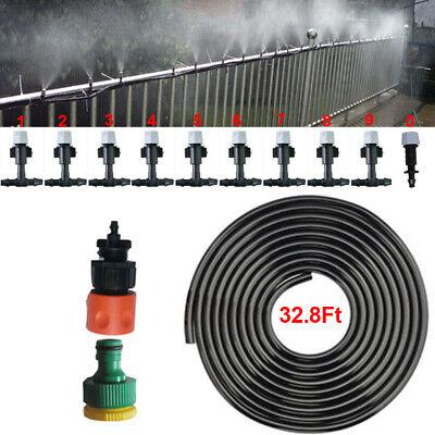 Garden Patio Water Mister Air Misting Cooling Micro Irrigation System (Garden Sprinkler System)