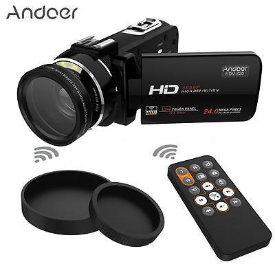 Wifi Full Hd 1080P 24Mp 16X Zoom Touch Screen Digital Video Camera Dv Camcorder