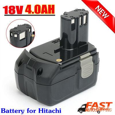 New 4.0Ah BCL1815 Battery 18V Li-ion For HITACHI BCL1820 BCL1830 BCL1840 EBM1830