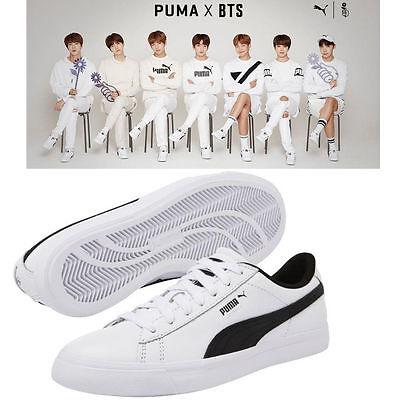 BTS Official Goods - PUMA X BTS COURT STAR Shoes + Photo Card, BANGTAN BOYS