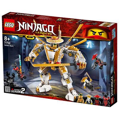 Lego Ninjago Legacy Golden Mech Building Set - 71702