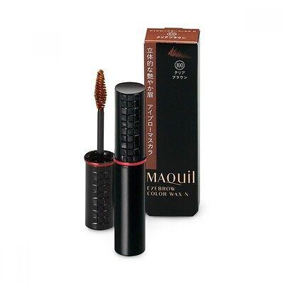 Shiseido Maquillage Eyebrow color wax N Mascara Clear Brown 5g waterproof