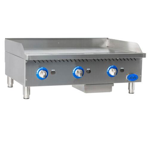 Globe Gg36g Gas Countertop Griddle W/ Manual Controls