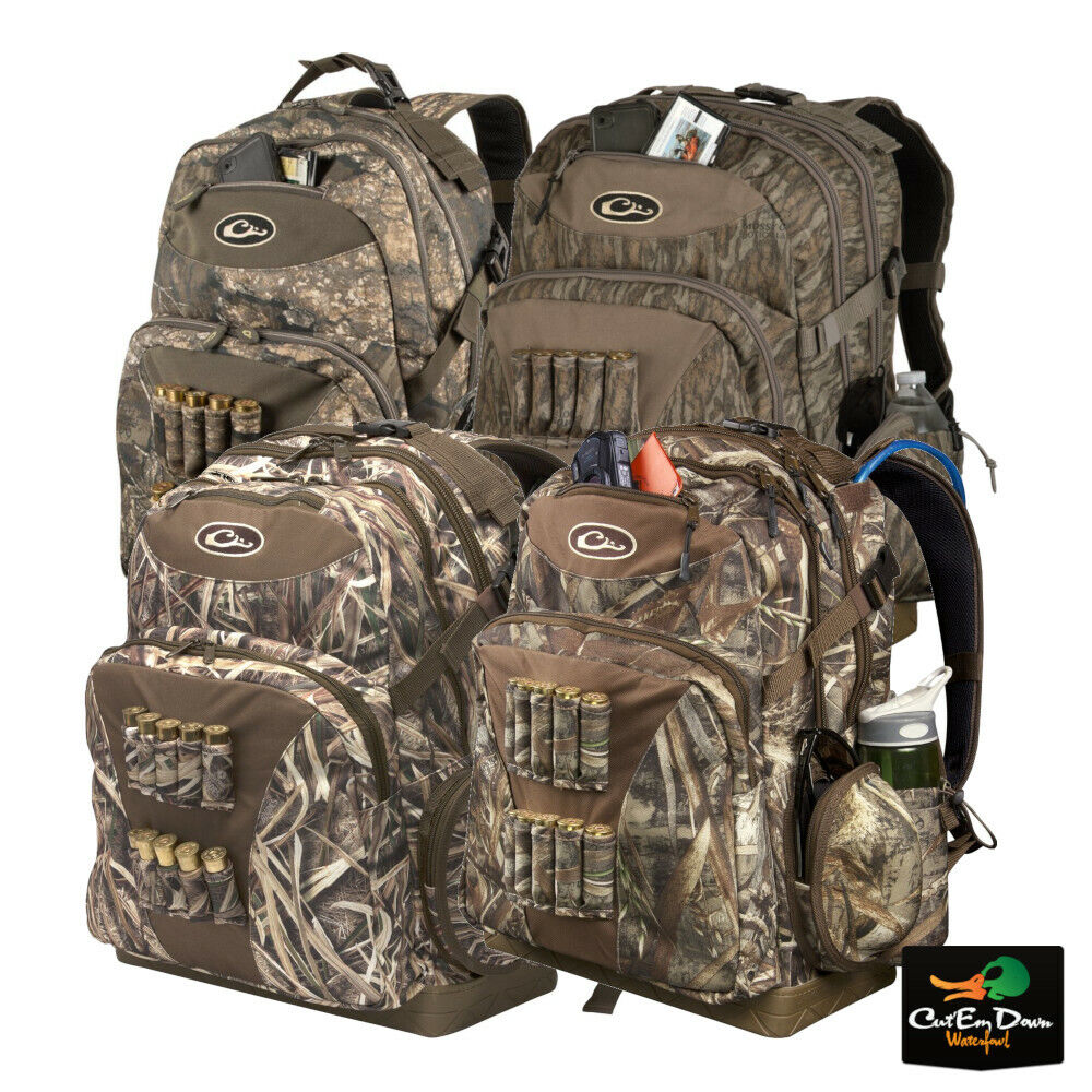 DRAKE WATERFOWL SYSTEMS SWAMP SOLE WALKIN BACK PACK CAMO BLIND BAG