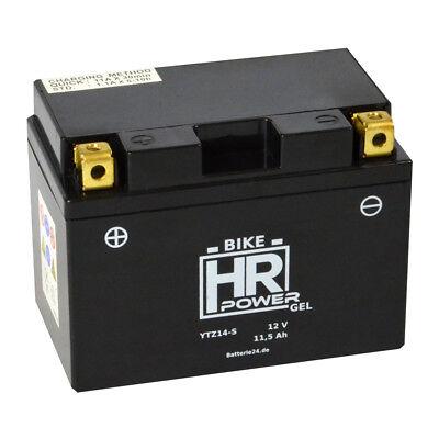 Motorradbatterie Gel 12V 11,5Ah 51121 YTZ14-S 12-14ZS GTZ14-4 51201 51101 51121