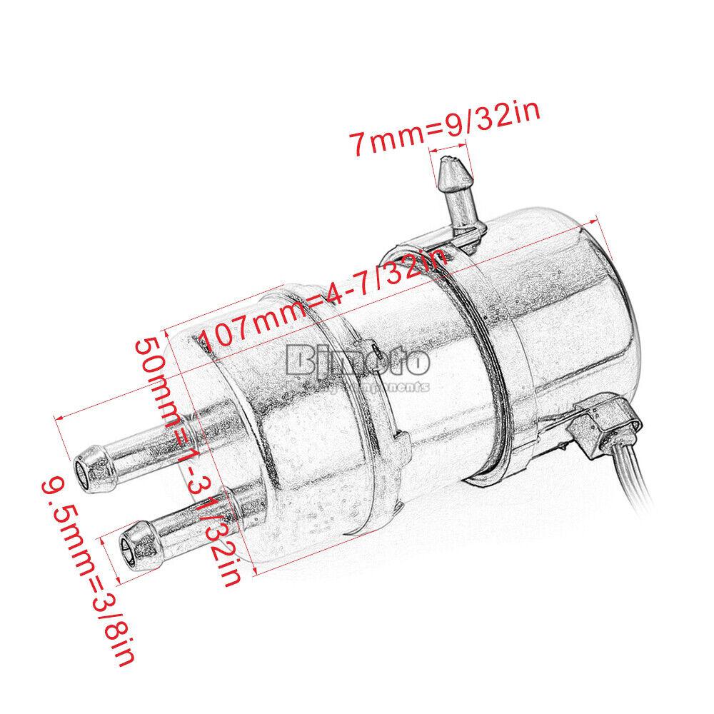 Fuel Pump For Kawasaki Mule 3010 4X4 KAF620 3000 KAF620