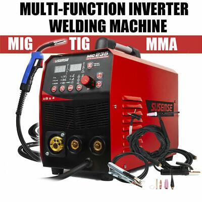 200a Tig Mma Mig Welding Machine 110v220v Dc Flux Core Welder Gas Gasless