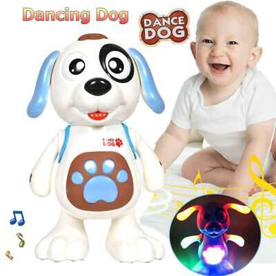 Toys For Girls Age 3 4 5 6 7 8 Years Old Kids Walking Dog Puppy With Light+Sound