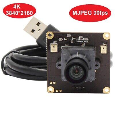 4 K 3840x2160 USB Webcam Mini 38*38mm USB Kamera modul für Windows Android linux