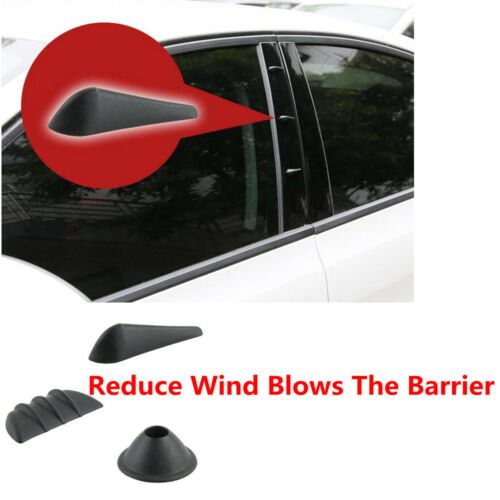 9x Shark Pins Body Roof Spoiler Reduce Wind Blows Barrier Noise Blower Blowdown