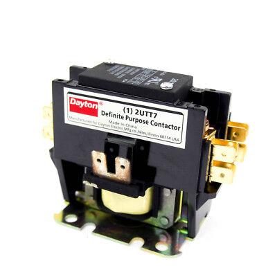 120vac Definite Purpose Contactor 1 Pole 20 Amp 5060 Hz
