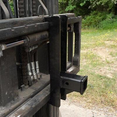 Trailer Hitch Receiver For Pallet Fork Forks Lift Forklift Skid Steer Pfrh