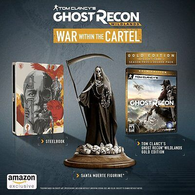 NEW Tom Clancy's Ghost Recon Wildlands War Within the Cartel Sony PlayStation