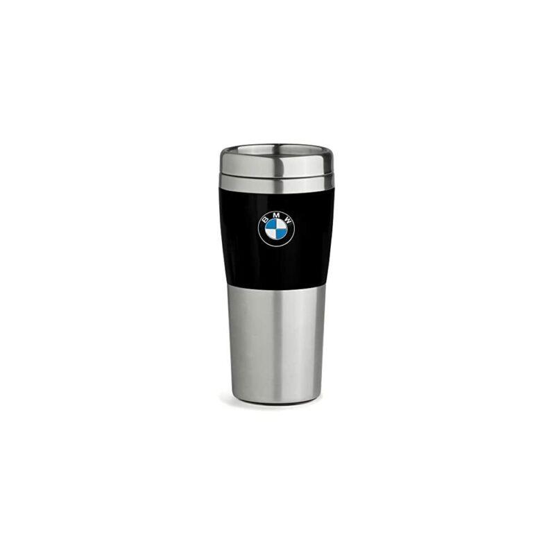BMW Travel Mug with Black Band - 14oz Genuine BMW Lifestyle