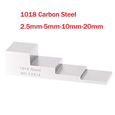 1018 Carbon Steel Calibration Block For Ultrasonic Thickness Gauge 2.5 5 10 20mm