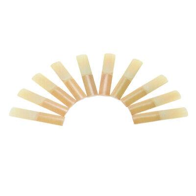 10pcs / Box Es-Alt Saxophon Sax Bambus Blätter Stärke 3,0 H3V0