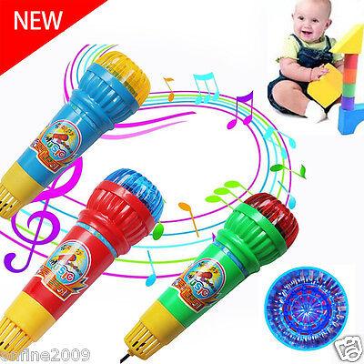 Kinder Baby Echo Mikrofon VOICE CHANGER MUSIK Spielzeug Geschenk Party Spaß Lied