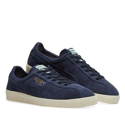Men's Puma TE-KU Peacoat Blue Suede Retro Fashion Trainers UK Sizes 8 - 12