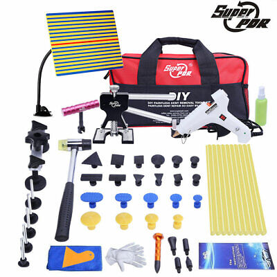 PDR Auto Car Body Dent Repair tool Dent Puller Dent removal Kit With Tool Bag