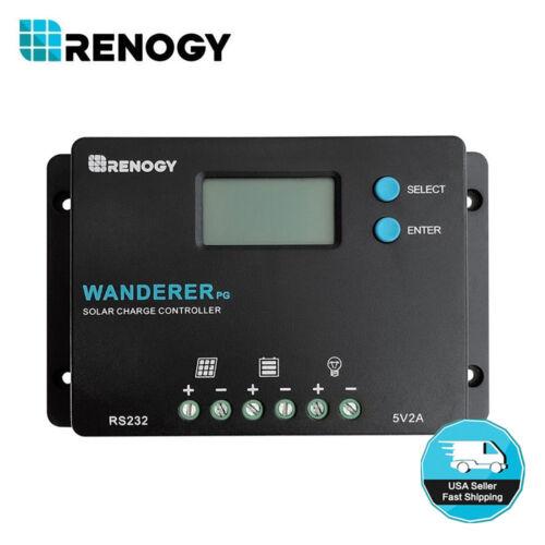 Renogy Wanderer Common Positive 10A PWM Solar Charge Controller 12V 24V