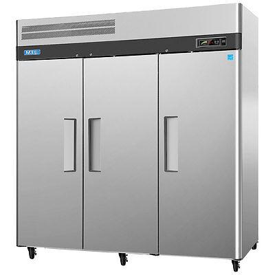 Turbo Air M3r72-3-n 65.8cf Commercial Reach-in Refrigerator 3 Solid Door