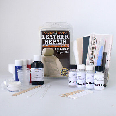LEATHER Repair Kit for ALL Car Interior etc. FIX Tear, Scratch, Scuffs & Holes