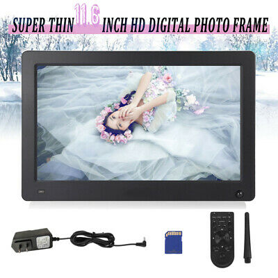 "11.6"" Digital Photo Frame Electronic Picture Video Player Movie Album Dispaly BT"