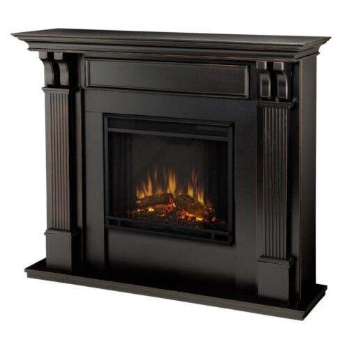 Real Flame Ashley Electric Fireplace Indoor Usage Heating Capacity 1.38 kW Black 7100E