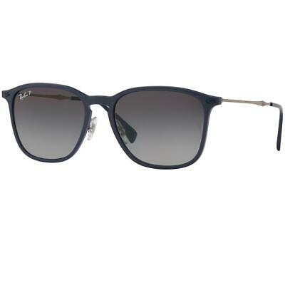 Ray-Ban Sunglasses Blue Graphene w/Dark Grey Gradient/Polarized Lens Unisex RB83