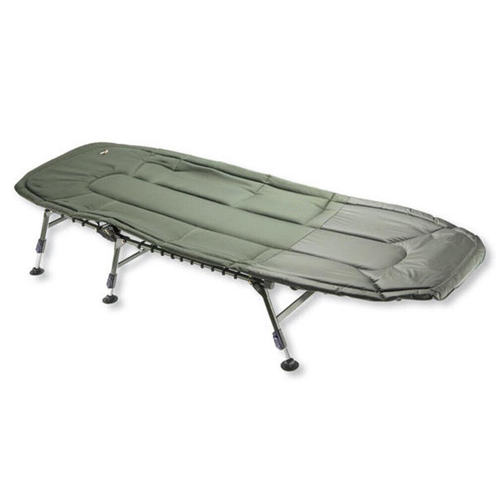 Cormoran Pro Carp Karpfenliege 6-bein, Bedchair, Carp Bed, Angelliege, Camping